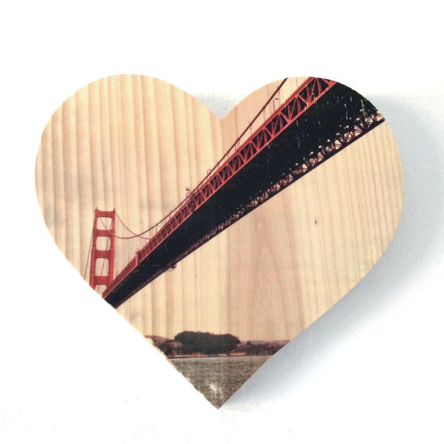 Sailor's View: Golden Gate Bridge - Heart