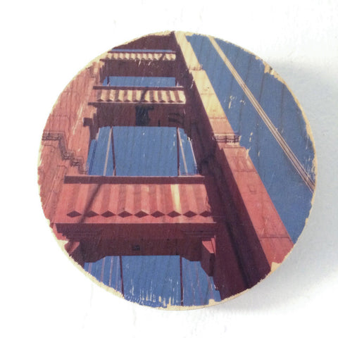 Sunroof View: Golden Bridge - Round or Oval
