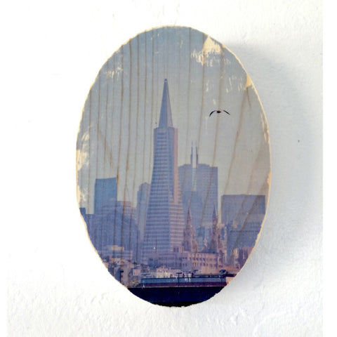Sailor's View: Transamerica Pyramid - Round or Oval