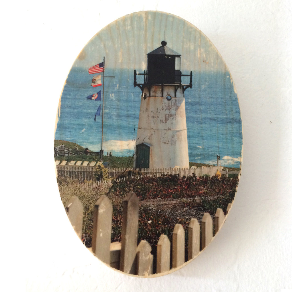Keeping Watch: Point Montara Lighthouse - Oval