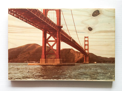 Dad's Golden Gate Bridge, Circa 1977 - Rectangle