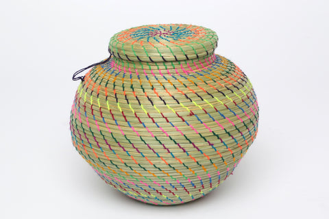 Hand Woven Basket/ Large