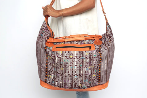 Huipil Weekender/ Brown Multi