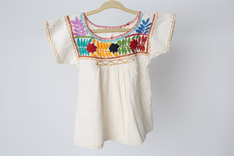 Traditional Mexican Children's Shirt/Dress