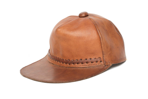 Leather Baseball Caps