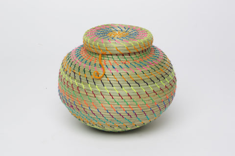 Hand Woven Basket/ Medium