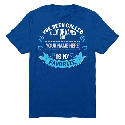 "Can't Find Your Name? Personalize Your ""Favorite Name - MOM"" Shirt Here!"