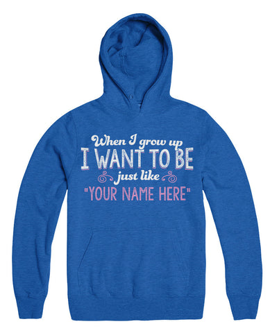 "Can't Find Your Name? Personalize Your ""When I Grow Up"" Grandma Shirt Here!"