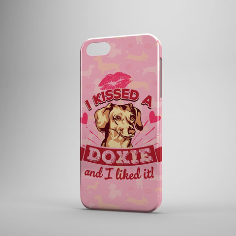 I Kissed A Doxie And I Liked It - Phone Cases