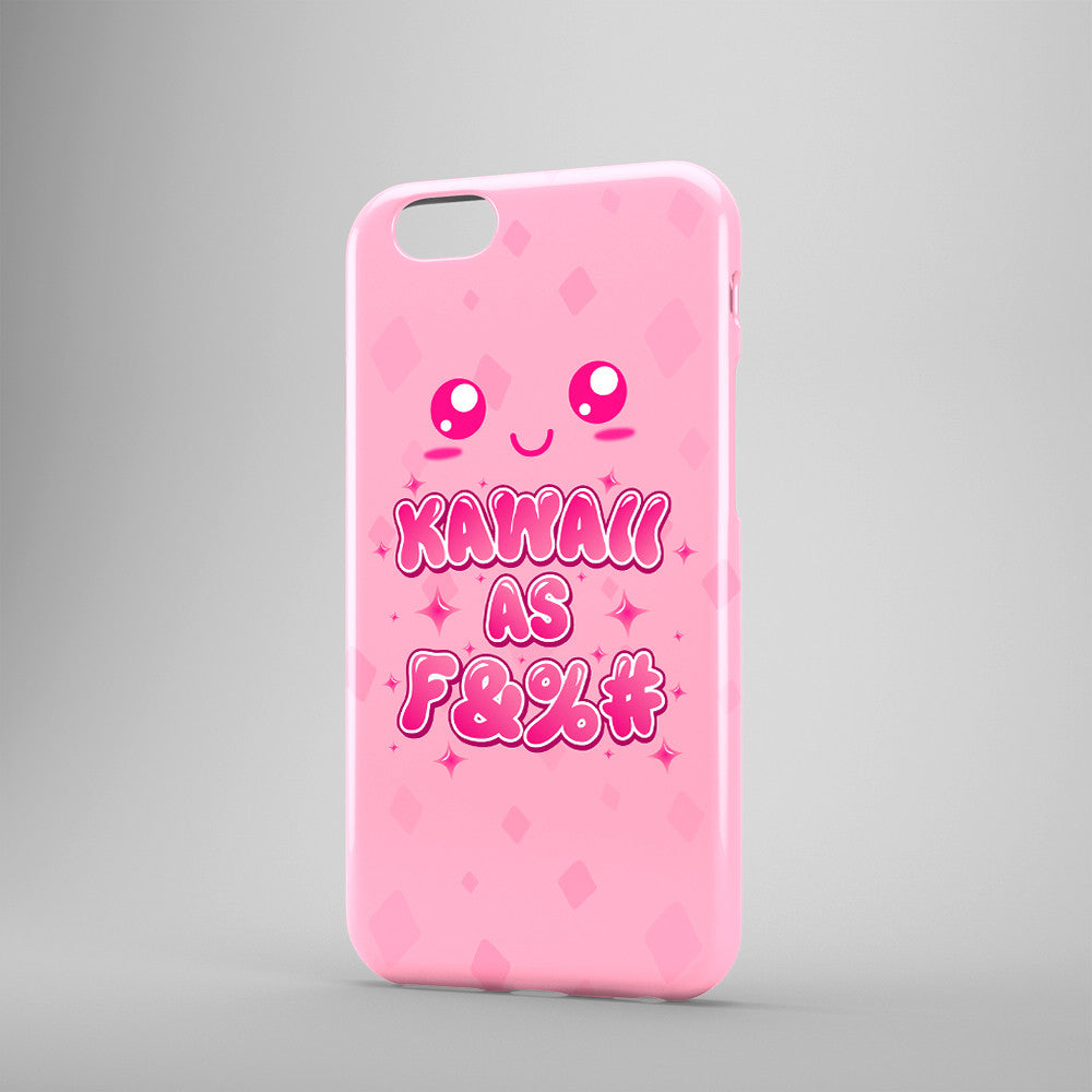 Kawaii As F&%# - Phone Cases - Pink