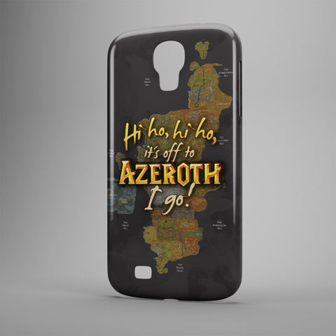 Hi Ho, Hi Ho, It's Off To Azeroth I Go! - Phone Cases - Black