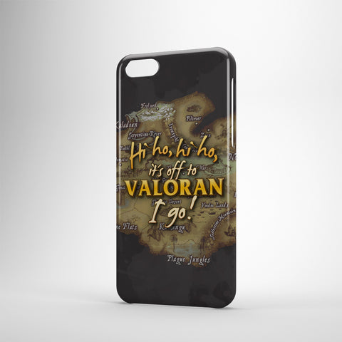 Hi Ho, Hi Ho, It's Off To Valoran I Go! - Phone Cases - Black