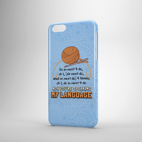 Now You're Speaking My Language - Phone Case - Blue