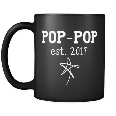 Family Coffee Mug - Pop-Pop est. 2017