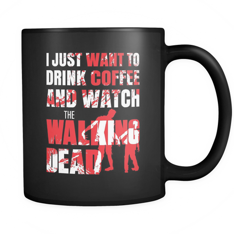 Coffee Lovers Mug - Coffee And The Walking Dead