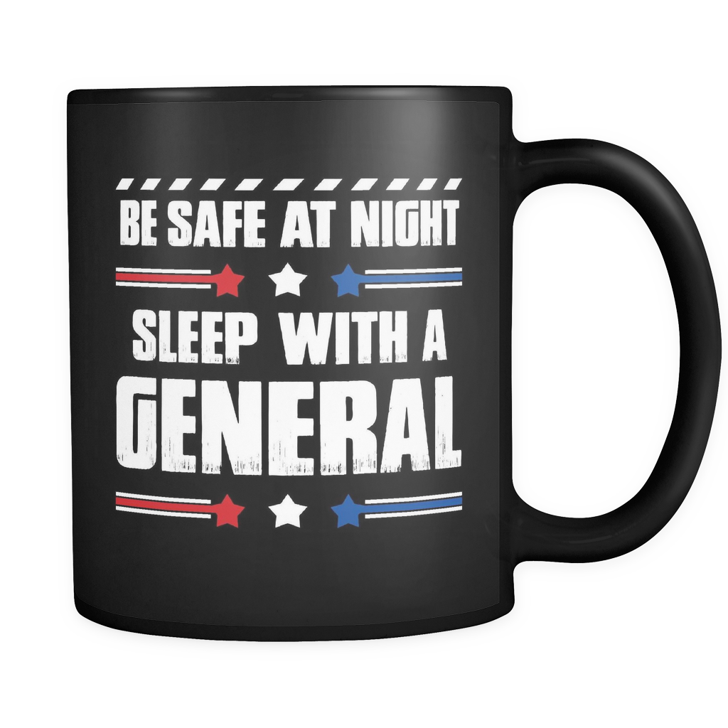 General Coffee Mug 11oz Black - Sleep With A General - ml7y-9nr1-mg 516376338