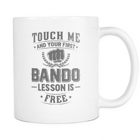 Bando Coffee Mug 11oz White - Free Lesson In Bando - 3m4a-b24d-mg 489782029