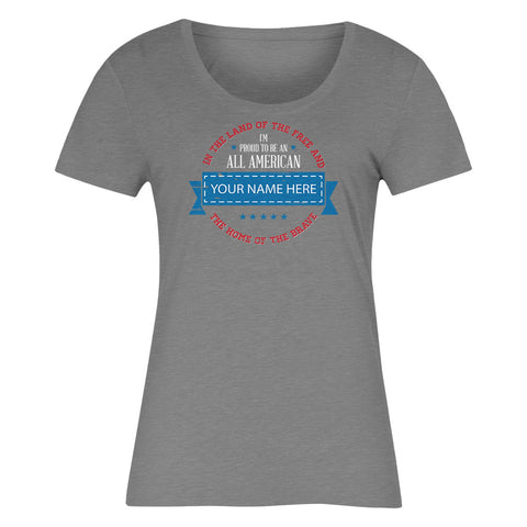 "Can't Find Your Name? Personalize Your ""All American"" Shirt Here!"