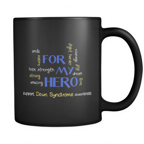 Awareness Coffee Mug - Down Syndrome Awareness - d03n-8o-mg 469004507