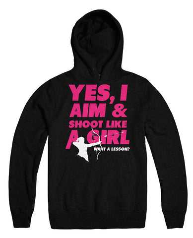Yes I Aim And Shoot Like A Girl Want A Lesson
