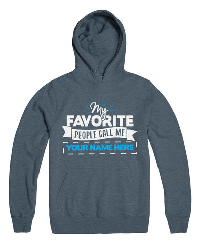 "Can't Find Your Name? Personalize Your ""Favorite People"" Grandpa Shirt Here!"