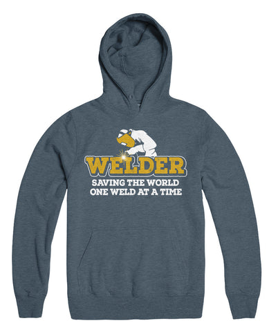 Welder Saving The World One Weld At A Time