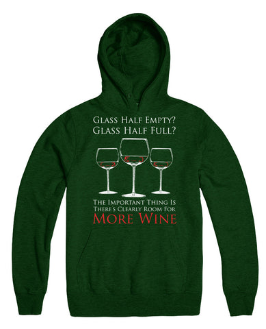 Glass Half Empty? Glass Half Full? The Important Thing Is There's Clearly Room For More Wine