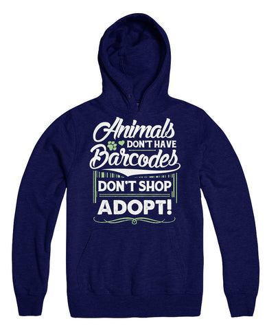 Animals Don't Have Barcodes Don't Shop Adopt