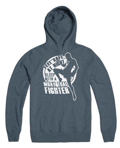 Feel Safe At Night Sleep With A Muay Thai Fighter