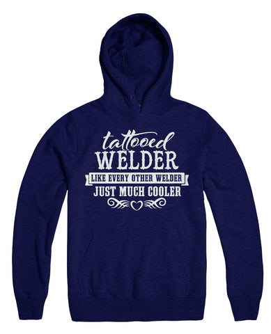 Tattooed Welder Like Every Other Welder Just Much Cooler