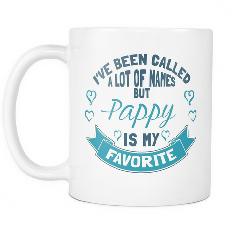 Pappy Coffee Mug - Favorite Name Is Pappy