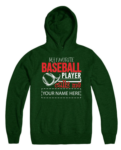 "Can't Find Your Name? Personalize Your ""Favorite Baseball Player"" Shirt Here!"