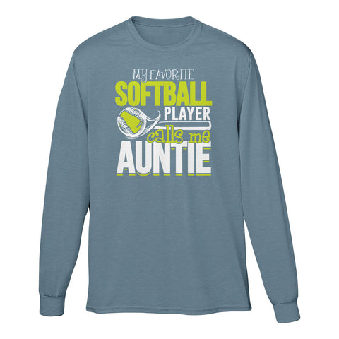 My Favorite Softball Player Calls Me Auntie