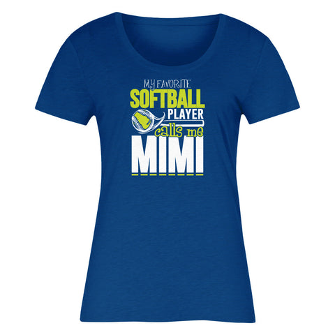 My Favorite Softball Player Calls Me Mimi