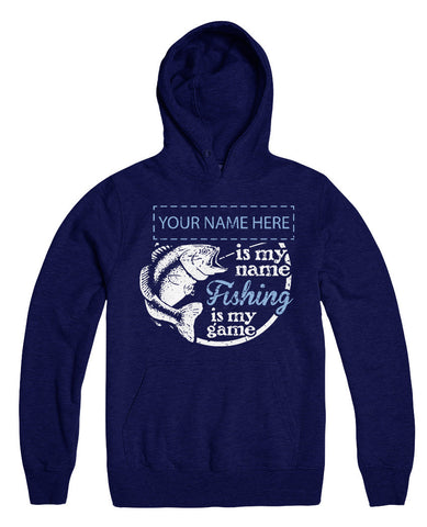 "Can't Find Your Name? Personalize Your ""Fishing Game"" Shirt Here!"
