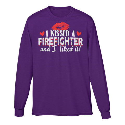 I Kissed A Firefighter And I Liked It