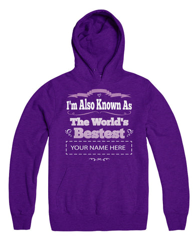 "Can't Find Your Name? Personalize Your ""World's Bestest"" Shirt Here!"