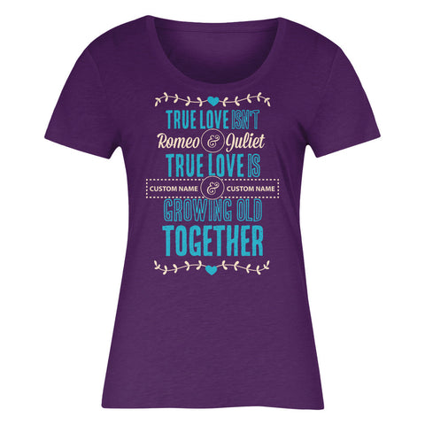 "Can't Find Your Name? Personalize Your ""Grow Old Together"" Shirt Here!"