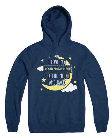 "Can't Find Your Name? Personalize Your ""Moon And Back"" Shirt Here!"
