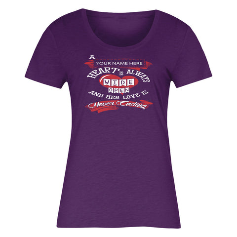 "Can't Find Your Name? Personalize Your ""Grandma's Heart"" Shirt Here!"