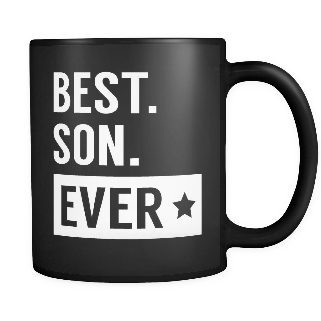 Son Coffee Mug 11oz Black - Best Son Ever - 491120719
