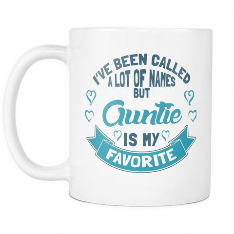 Auntie Coffee Mug - Favorite Name Is Auntie