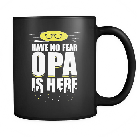Opa Coffee Mug - Opa Is Here - 9r4n-b8d-mg 9r4n-b84-mg 457125772
