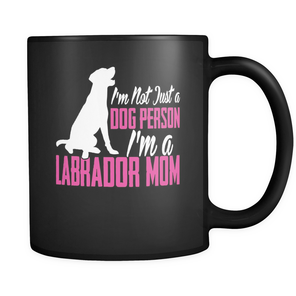 Labrador Mom Coffee Mug 11oz Black - I'm a Labrador Mom - l4b8-b20-mg 469357488