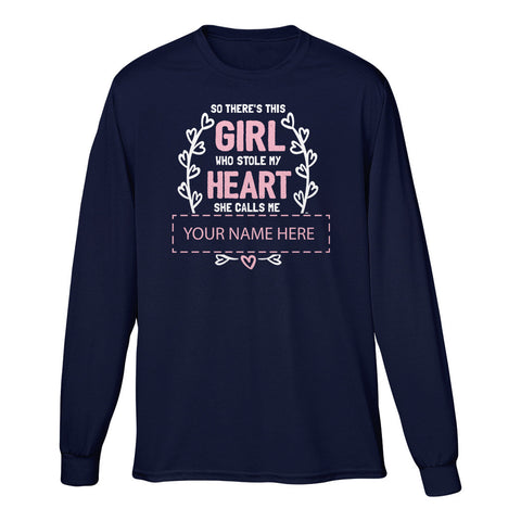 "Can't Find Your Name? Personalize Your ""She Calls Me"" Shirt Here!"