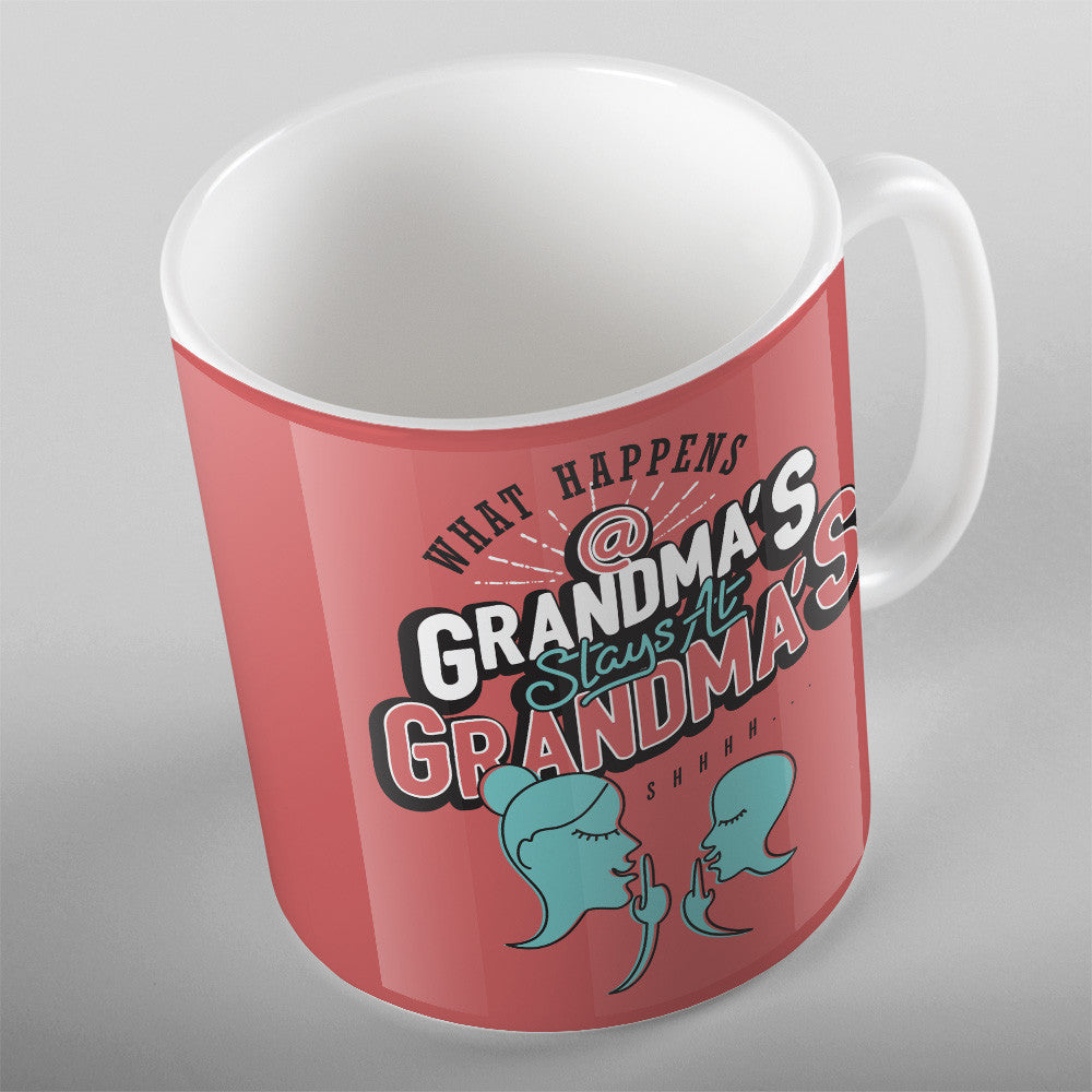 What Happens At Grandmas Stays At Grandmas - 11oz MUG