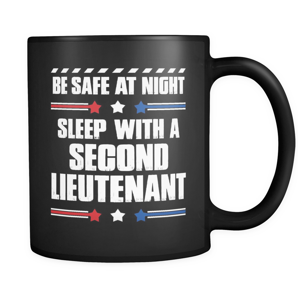 Second Lieutenant Coffee Mug 11oz Black - Sleep With A Second Lieutenant - ml7y-2d1t-mg 516428670