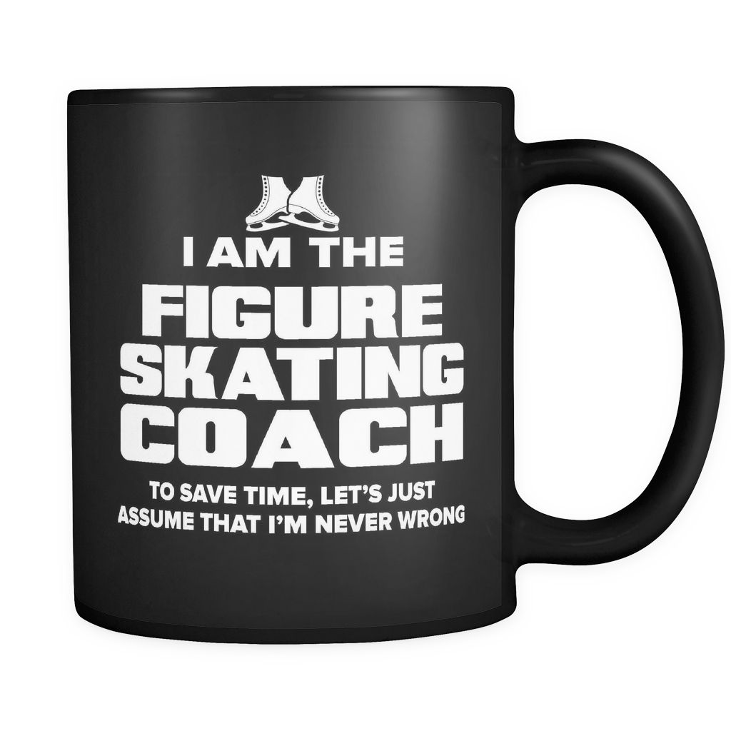 Coach Funny Mug 11oz Black - Figure Skating Coach - c09h-b2f-mg 498584886