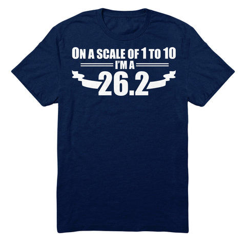 On A Scale Of 1 To 10 I'm A 26.2