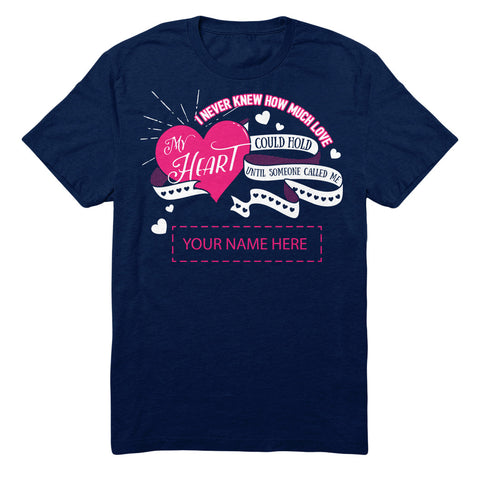"Can't Find Your Name? Personalize Your ""Called Me"" Shirt Here!"